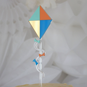 Up + Away Kite Cake Topper - Sweet Layer Cake