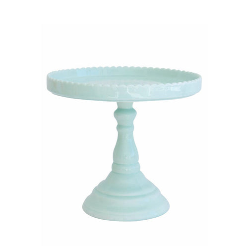 Décor Bon Bon Tall Pedestal - Teal - Sweet Layer Cake