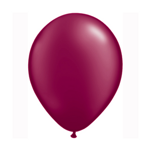 Pearl Burgundy Balloons - Sweet Layer Cake