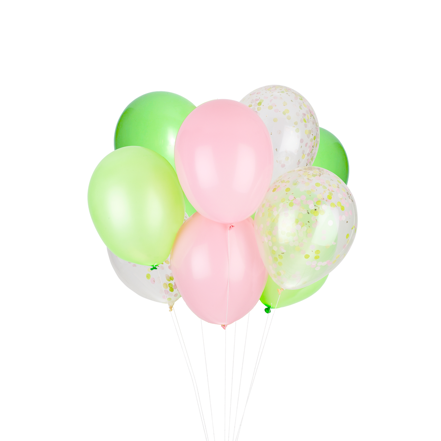 Cactus Party Balloons - Sweet Layer Cake