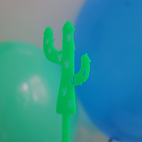 Cool As A Cactus Cake Topper - Sweet Layer Cake