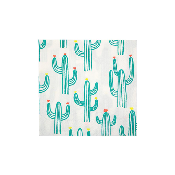 Cactus Napkins (Large) - Sweet Layer Cake