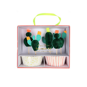 Cactus Cupcake Kit - Sweet Layer Cake