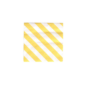Yellow Stripes Napkins - Sweet Layer Cake