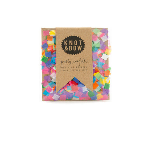 Tiny Rainbow Single Serving Size Confetti - Sweet Layer Cake