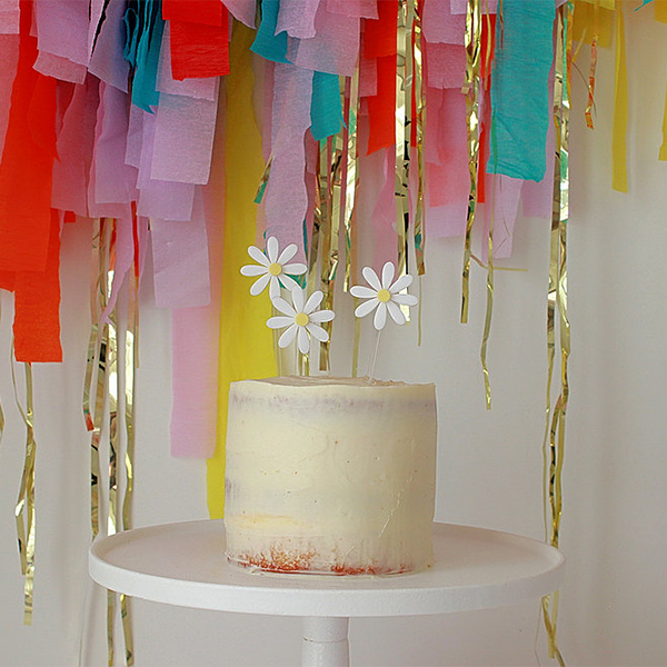 Hey Petal Cake Topper - Sweet Layer Cake