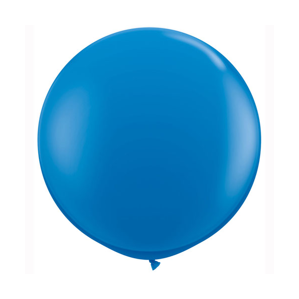 Dark Blue Balloons - Sweet Layer Cake