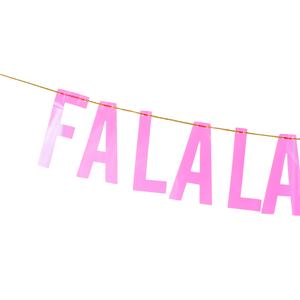 Falala Banner - Sweet Layer Cake