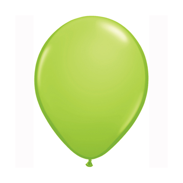 Lime Green Balloons - Sweet Layer Cake