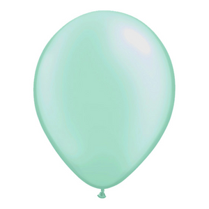 Pearl Mint Green Balloons - Sweet Layer Cake