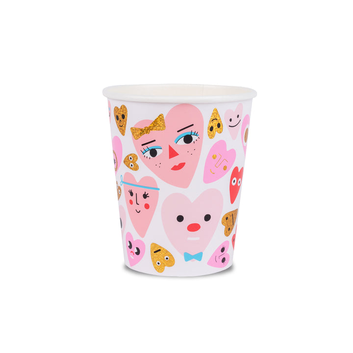 Valentine's Day Party Cups