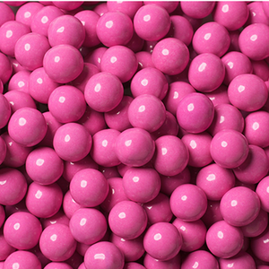 Hot Pink Chocolate Balls - Sweet Layer Cake