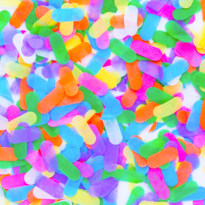 Ice Cream Sprinkles Confetti - Sweet Layer Cake