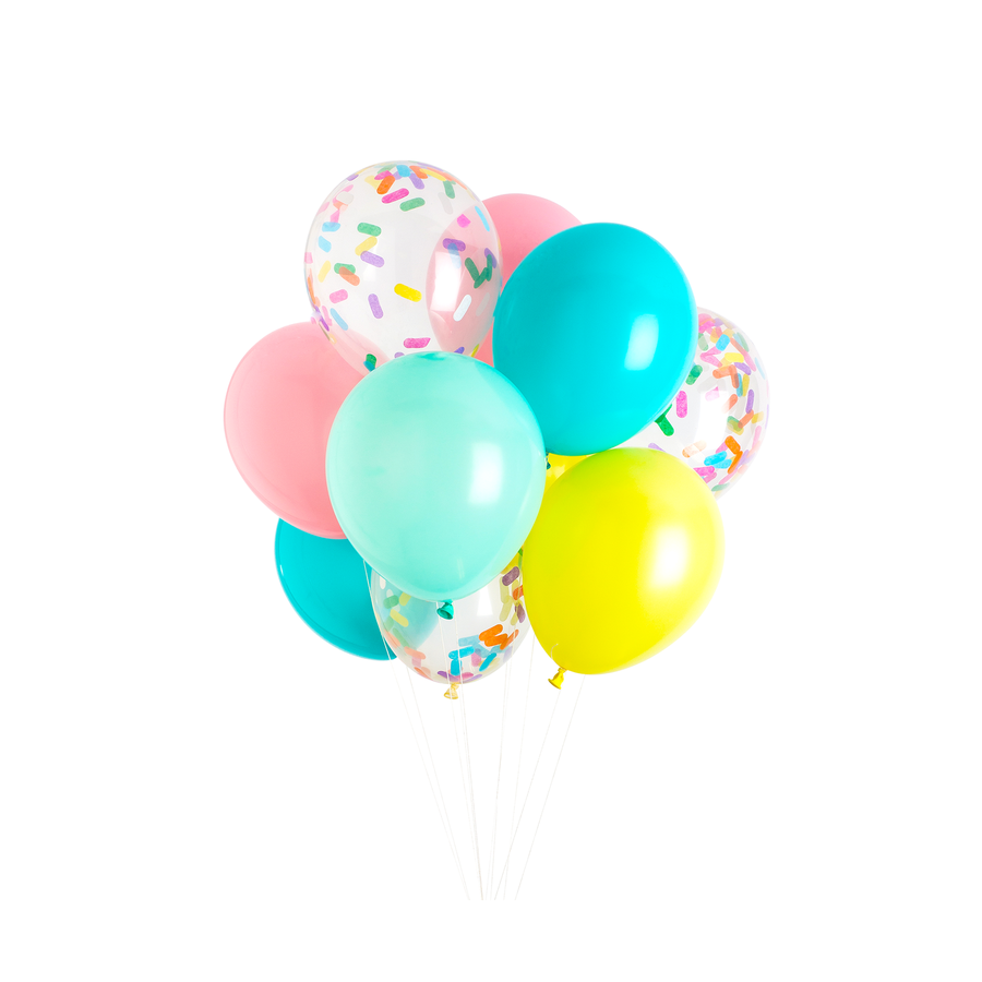 Ice Cream Party Balloons - Sweet Layer Cake