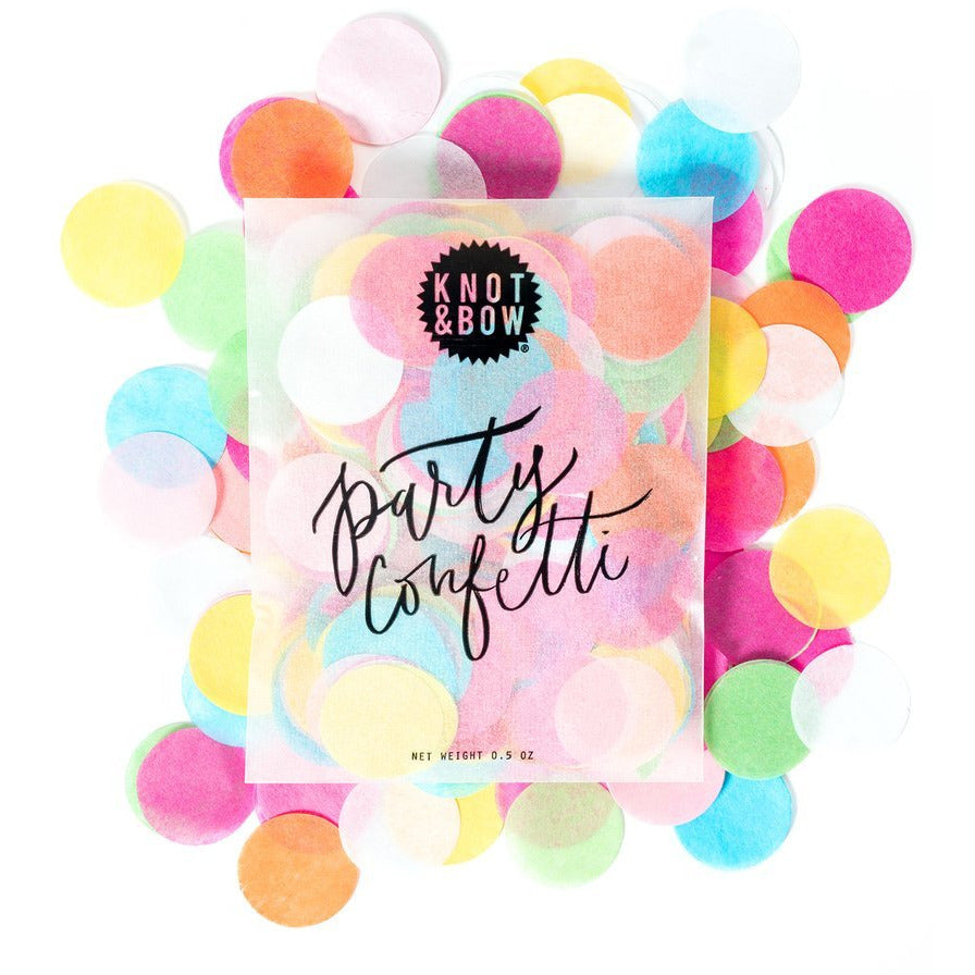 Multicolour Party Confetti Bag - Sweet Layer Cake