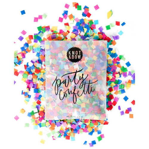 Tiny Rainbow Party Confetti Bag - Sweet Layer Cake