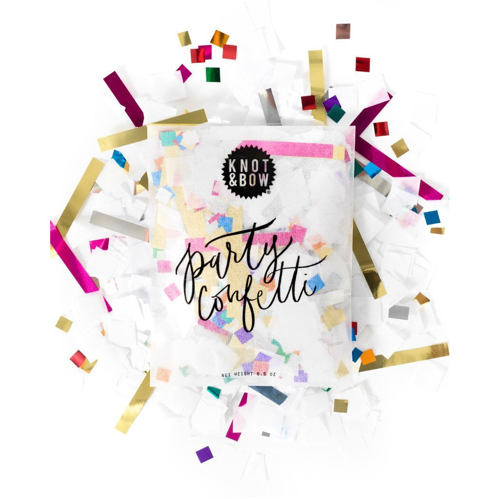 Classic Party Confetti Bag - Sweet Layer Cake