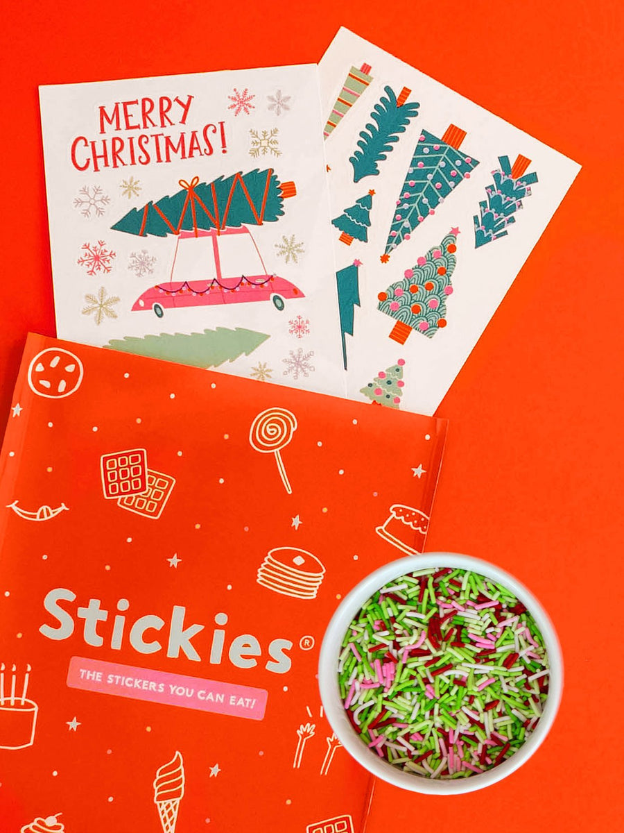 Let's Get A Tree! Stickies