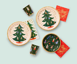 Rifle Paper Co Christmas Party Plates UK