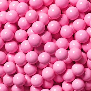 Pastel Pink Chocolate Balls - Sweet Layer Cake