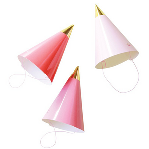 Party Hats - Pink - Sweet Layer Cake
