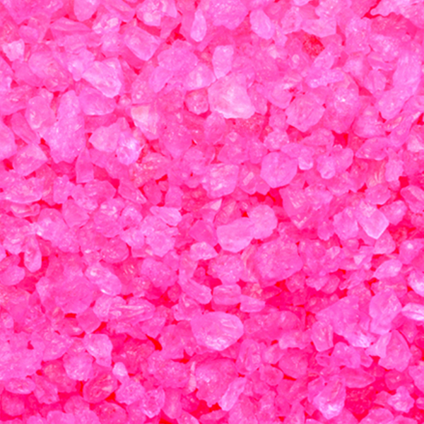 Pink Rock Candy Crystals - Sweet Layer Cake