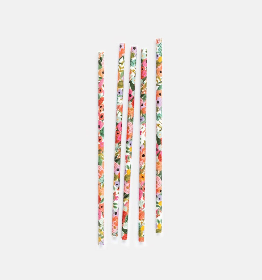Garden Party Straws - Sweet Layer Cake