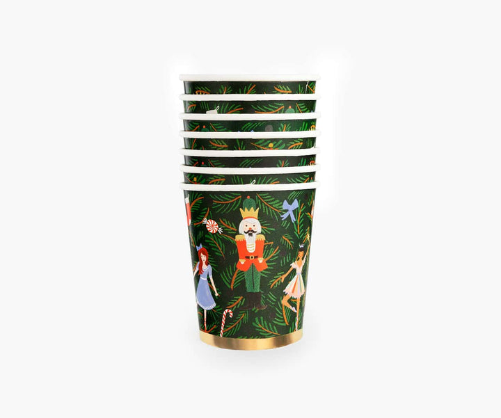 Nutcracker Christmas Party Cups