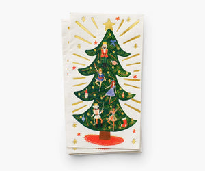 Rifle Paper Co Nutcracker Christmas Napkins