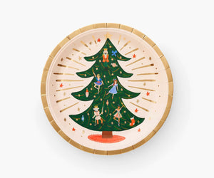 Rifle Paper Co Nutcracker Christmas Party Plates