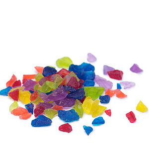 Rainbow Rock Candy Crystals - Sweet Layer Cake
