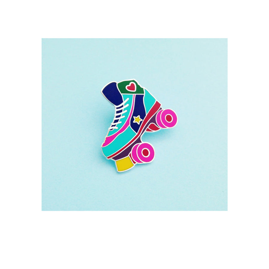 Roller Skate Enamel Pin - Sweet Layer Cake