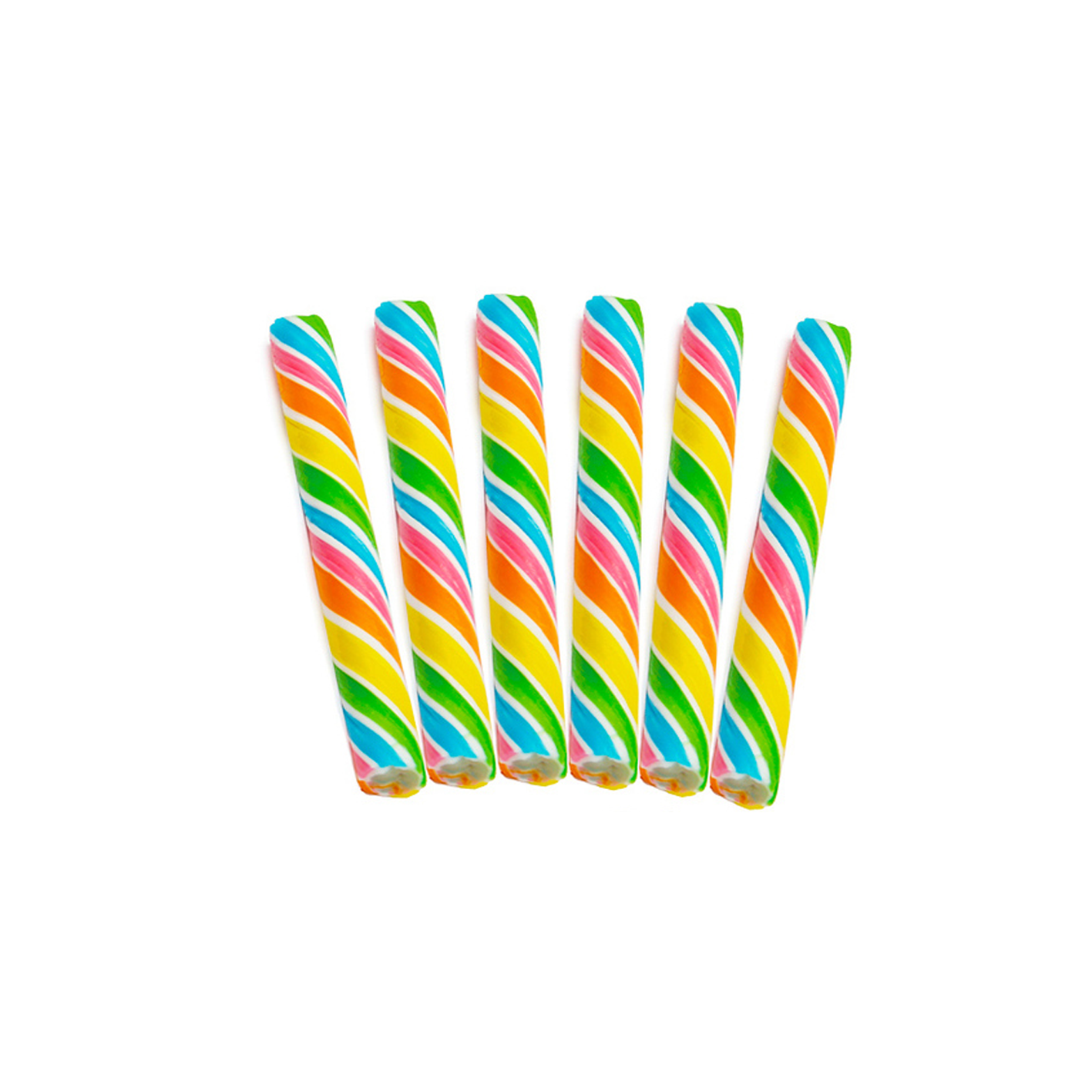 Rainbow Sweet Spindles Hard Candy Sticks - Sweet Layer Cake