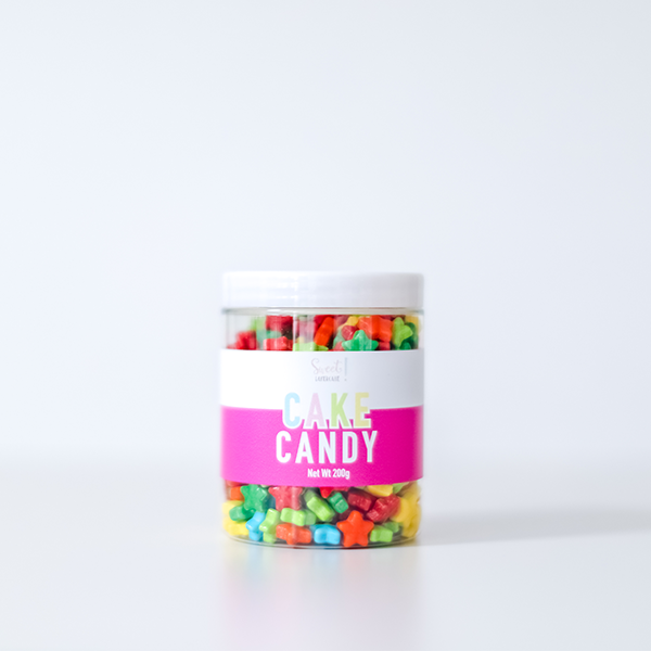 Candy Stars - 200g - Sweet Layer Cake
