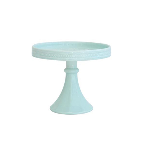 Décor Bon Bon Hue Pedestal - Teal - Sweet Layer Cake