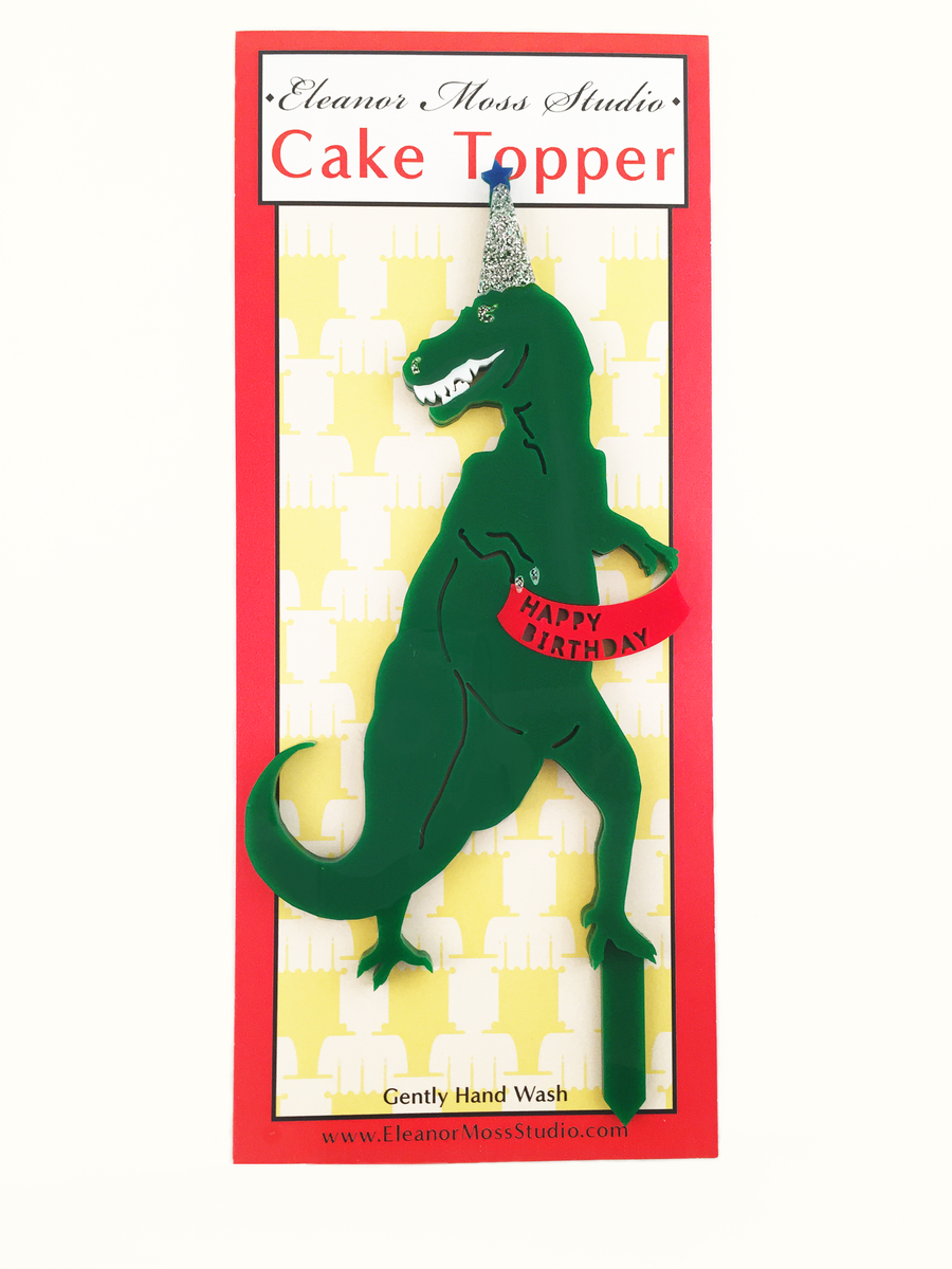 T-Rex Cake Topper - Sweet Layer Cake