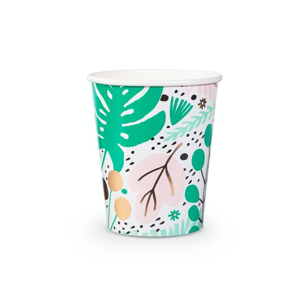 Tropical Party Cups