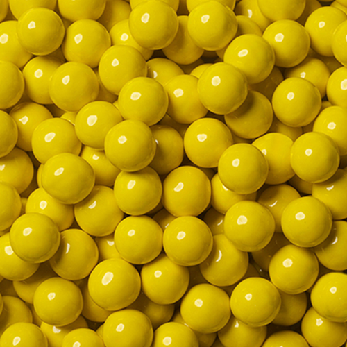 Yellow Chocolate Balls - 200g - Sweet Layer Cake