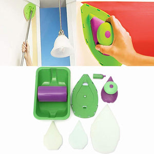 Decorative Paint Roller and Tray Set