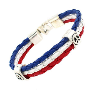 World Cup National Flags Bracelet