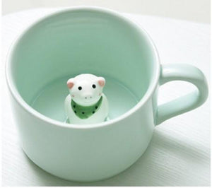 Cute 3D Animal  Mugs - Trendiscovery