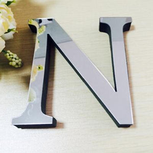 3D Acrylic Letter Decor - Trendiscovery