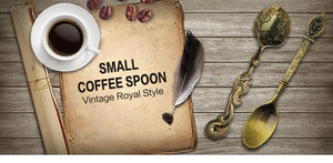 5 pcs Vintage Royal Spoon Set - Trendiscovery