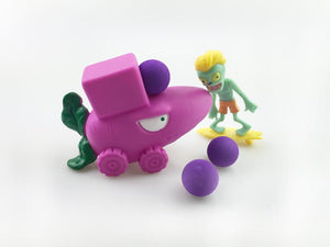 Plants VS. Zombies With Peashooter
