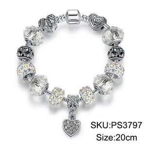 Crystal Charm Bracelet - Trendiscovery
