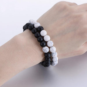 Distance Couple Bracelet, 2-piece set - Trendiscovery