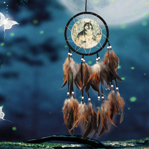 Wolf Totem Dream Catcher