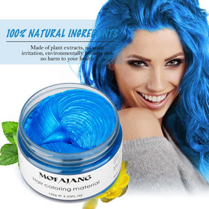 Temporary Hair Dye Styling Wax