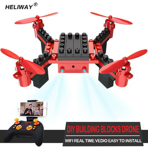 Blocks RC Drone with Camera - Trendiscovery