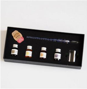 Crystal Glass Dip Pen set - Trendiscovery